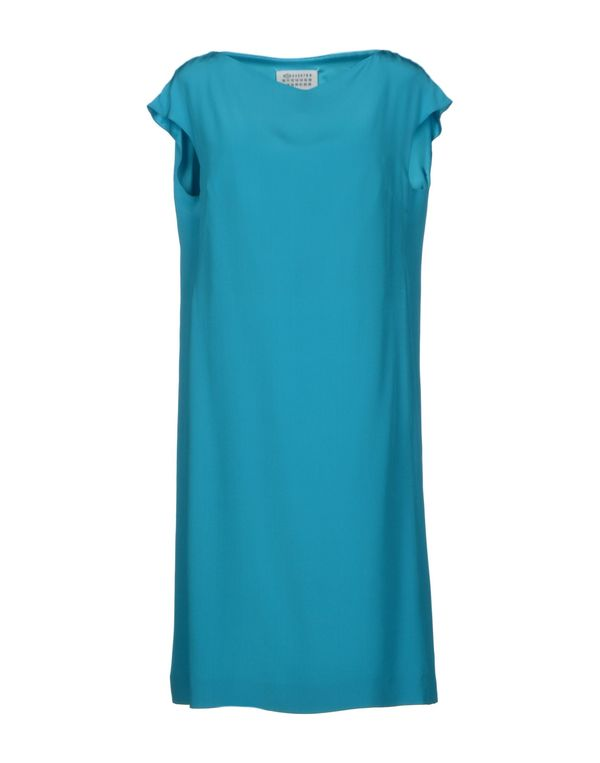 蓝绿色 MAISON MARTIN MARGIELA 1 及膝连衣裙