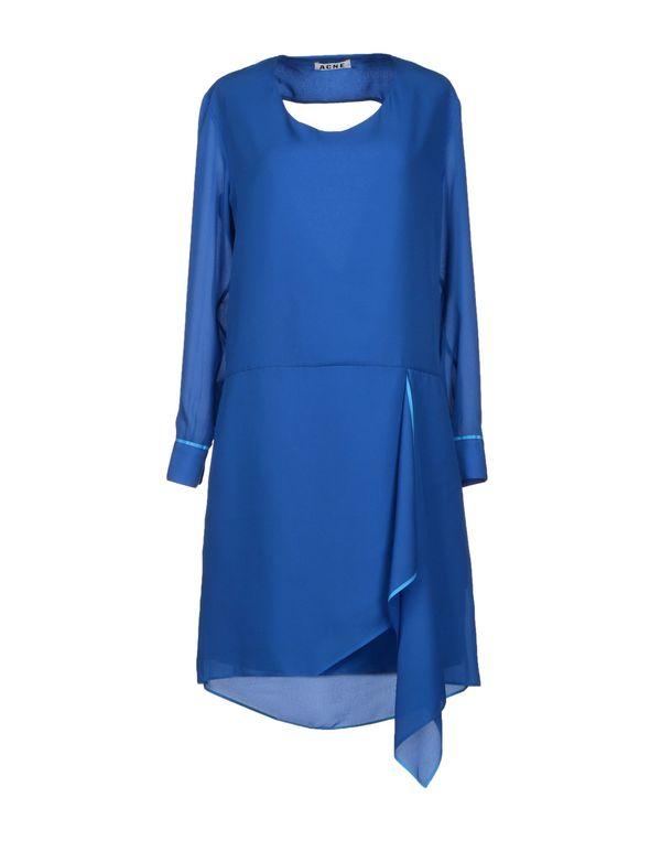 蓝色 ACNE STUDIOS 短款连衣裙