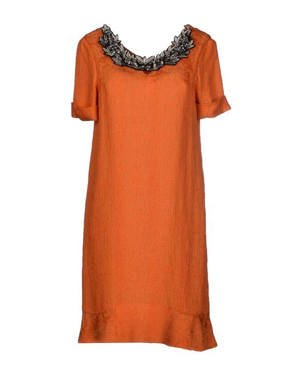 橙色 JO NO FUI 短款连衣裙