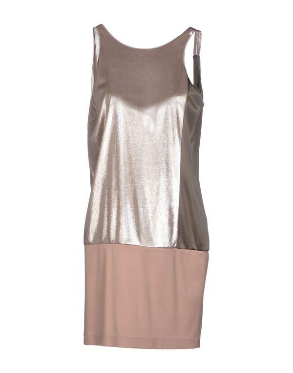 银色 PINKO BLACK 短款连衣裙