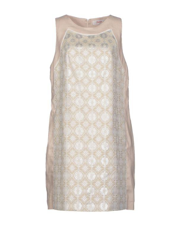 淡灰色 JUCCA 短款连衣裙
