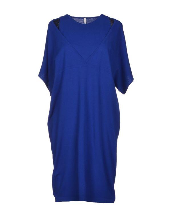 蓝色 PIERANTONIO GASPARI 短款连衣裙