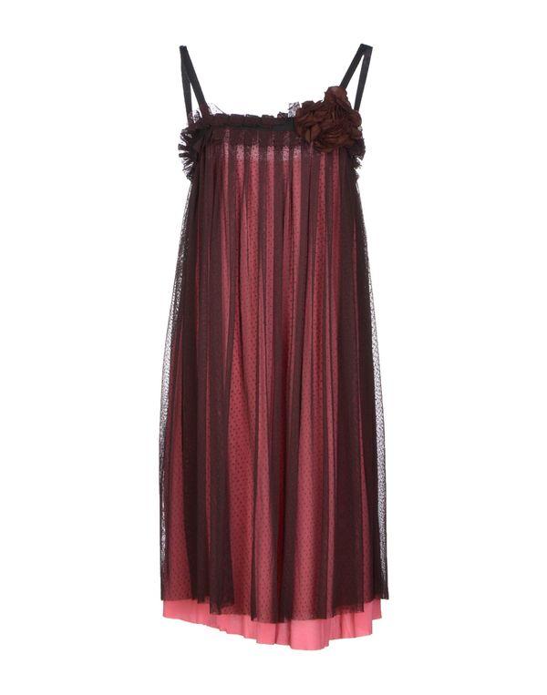 浅紫色 ...À_LA_FOIS... 及膝连衣裙