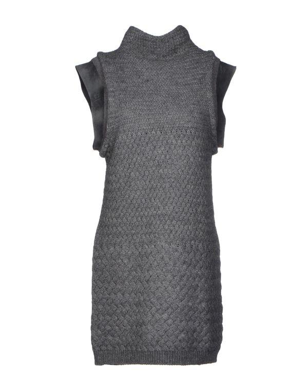 灰色 PATRIZIA PEPE 短款连衣裙
