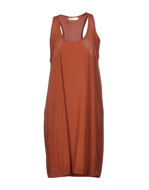 铁锈红 SUOLI 短款连衣裙
