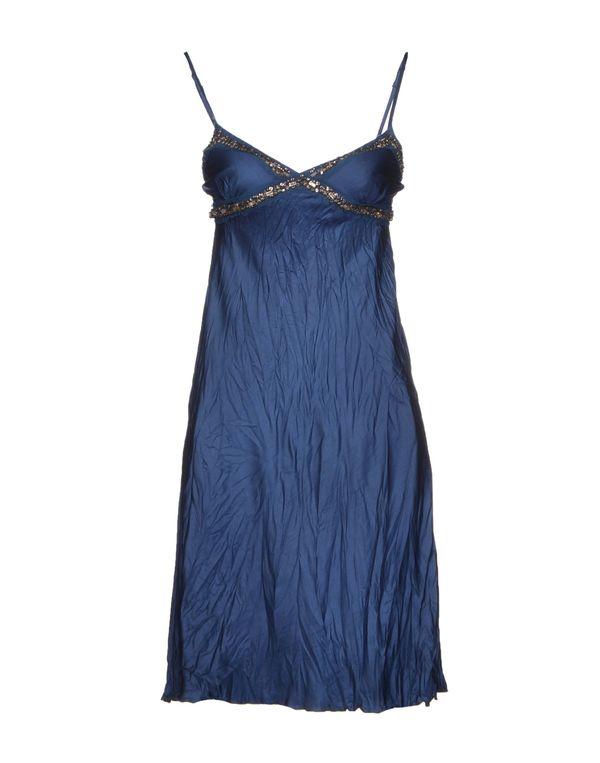 孔雀绿 LIU •JO 及膝连衣裙