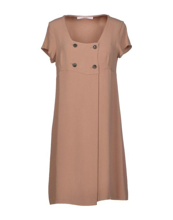 裸色 JUCCA 短款连衣裙