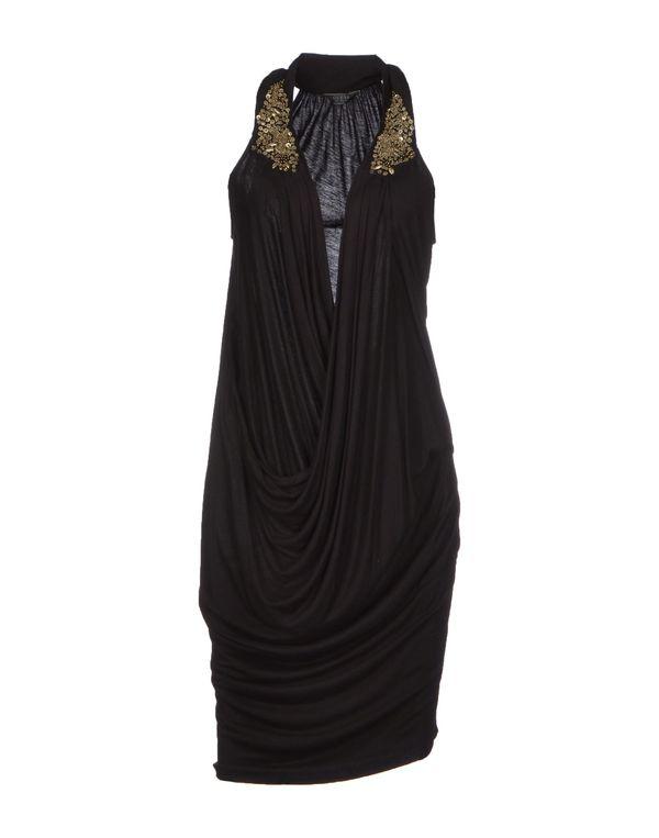 黑色 GUESS 及膝连衣裙