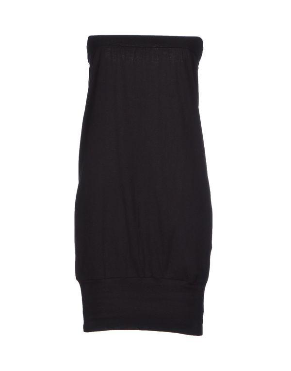 黑色 AMERICAN APPAREL 短款连衣裙