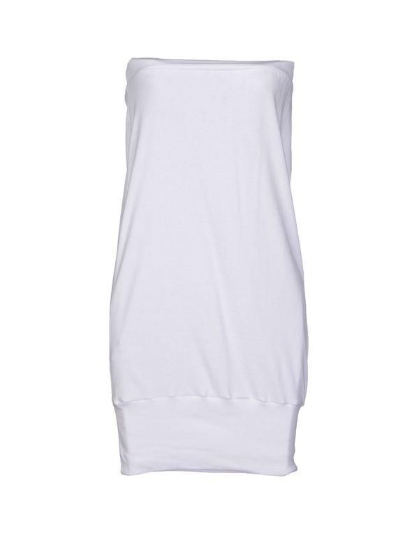 白色 AMERICAN APPAREL 短款连衣裙