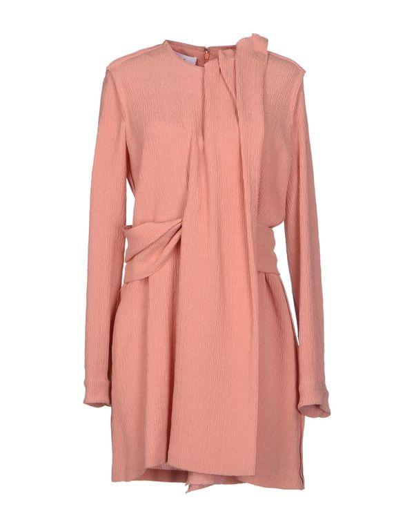水粉红 CACHAREL 短款连衣裙