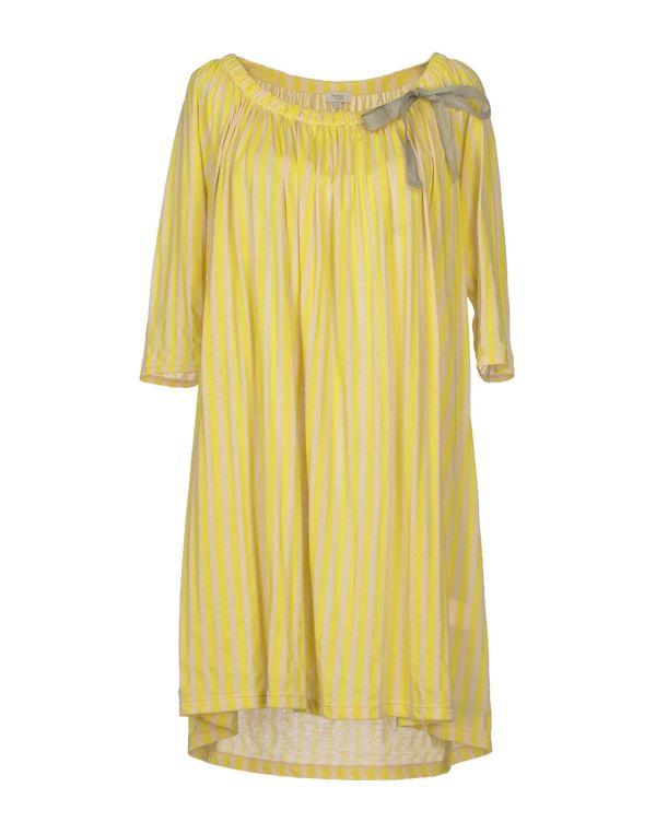 黄色 HOSS INTROPIA 短款连衣裙