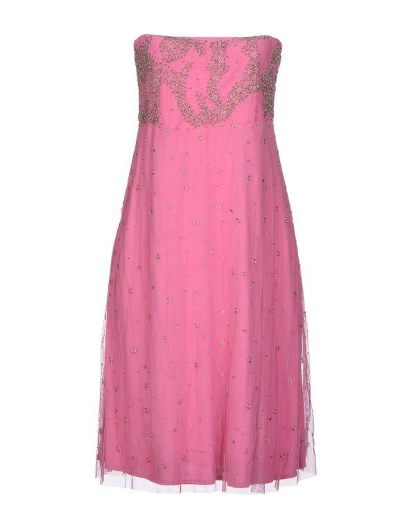 浅紫色 MANILA GRACE 短款连衣裙