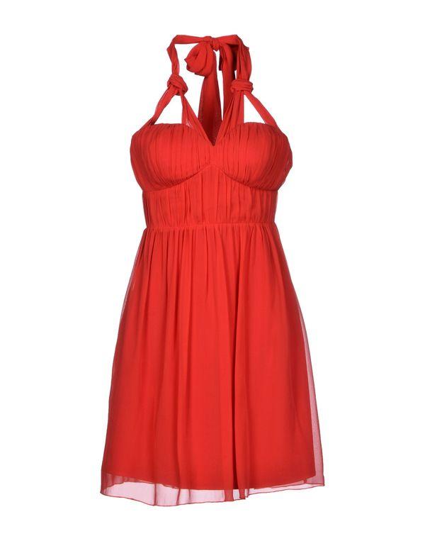 红色 LIPSY 短款连衣裙