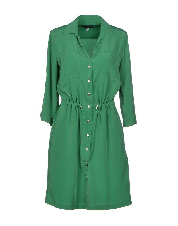 绿色 ARMANI JEANS 短款连衣裙