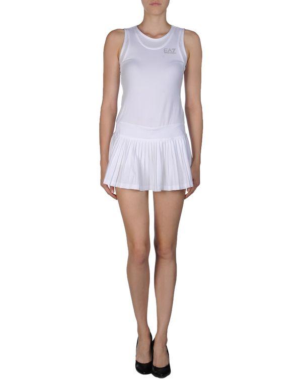 白色 ARMANI JEANS 连身短裤