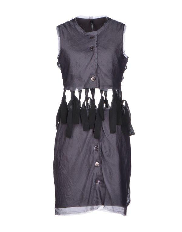 灰色 LIVIANA CONTI 及膝连衣裙
