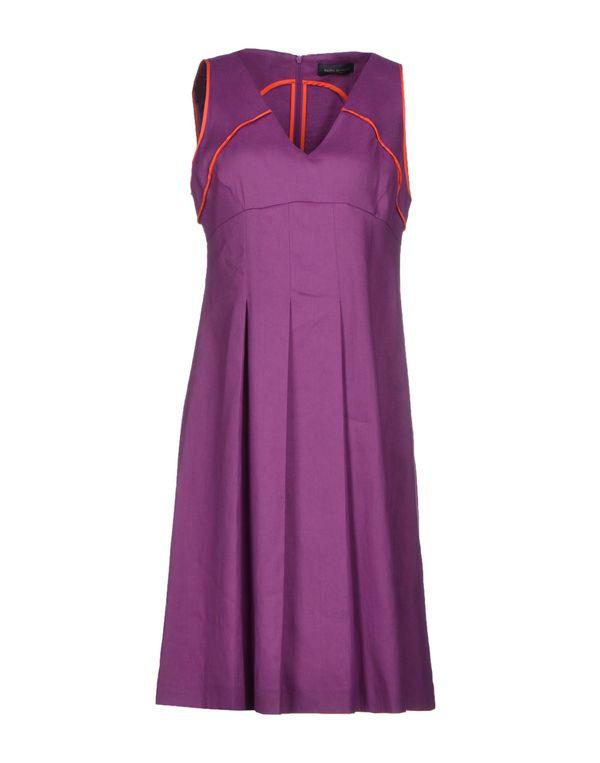 紫色 PIAZZA SEMPIONE 及膝连衣裙