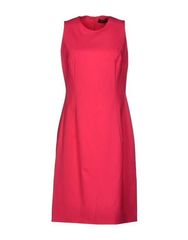 玫红色 PIAZZA SEMPIONE 及膝连衣裙