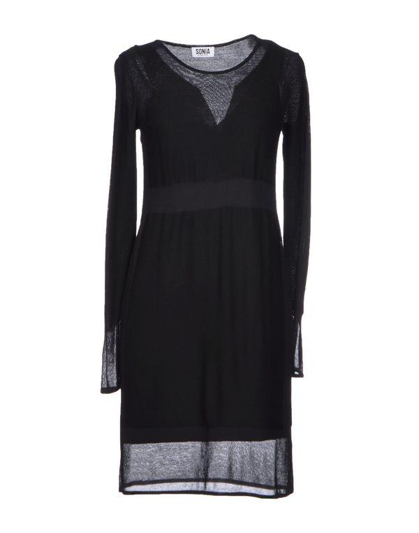 黑色 SONIA BY SONIA RYKIEL 短款连衣裙