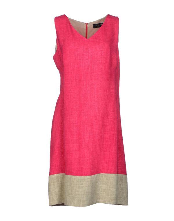 玫红色 PIAZZA SEMPIONE 短款连衣裙