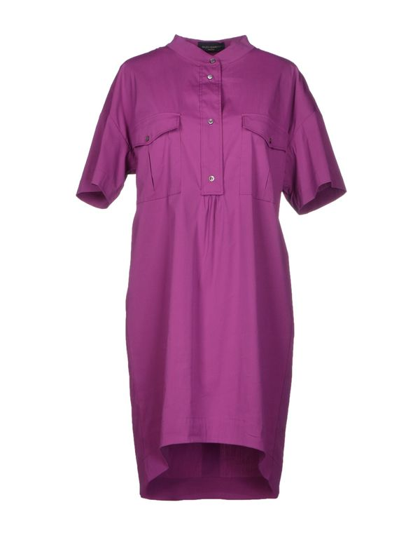 紫色 PIAZZA SEMPIONE 短款连衣裙