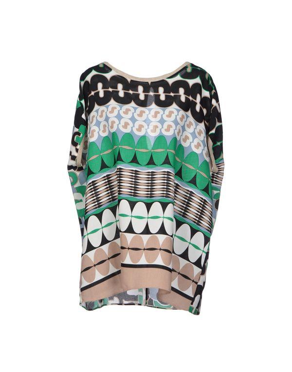 绿色 ALYSI 女士衬衫