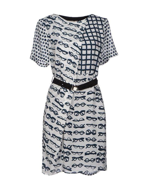 白色 ALYSI 短款连衣裙