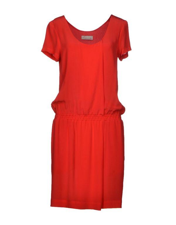 珊瑚红 ALYSI 短款连衣裙
