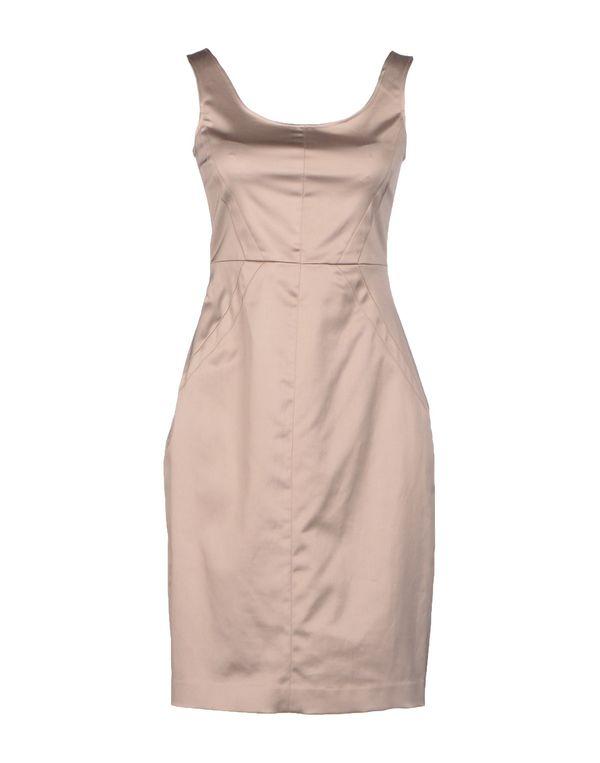 鸽灰色 TARA JARMON 短款连衣裙