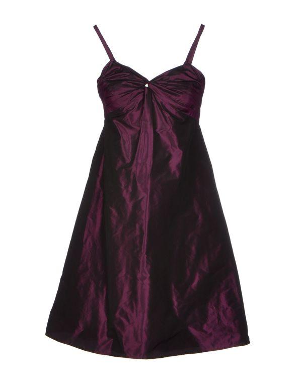 深紫 ASPESI 短款连衣裙