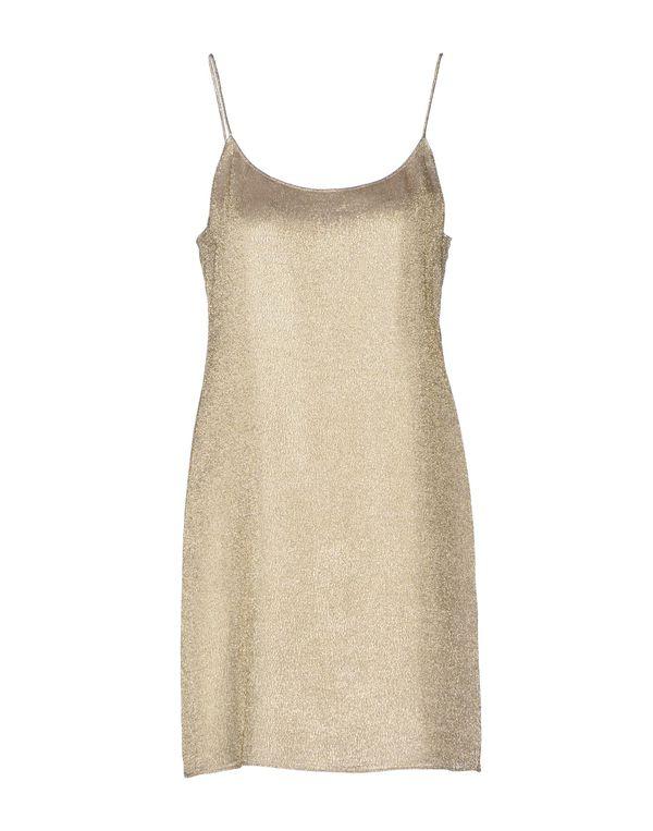 铂金色 ASPESI 短款连衣裙