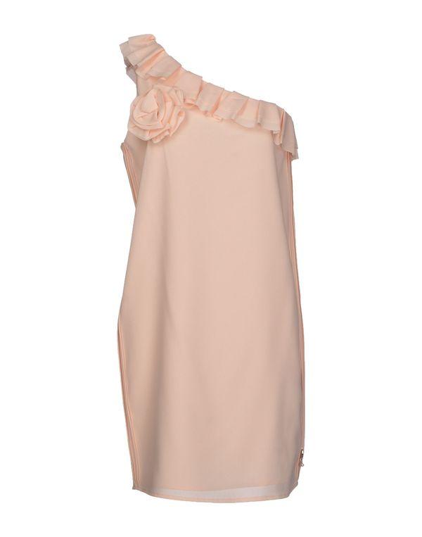 米色 TWIN-SET JEANS 短款连衣裙