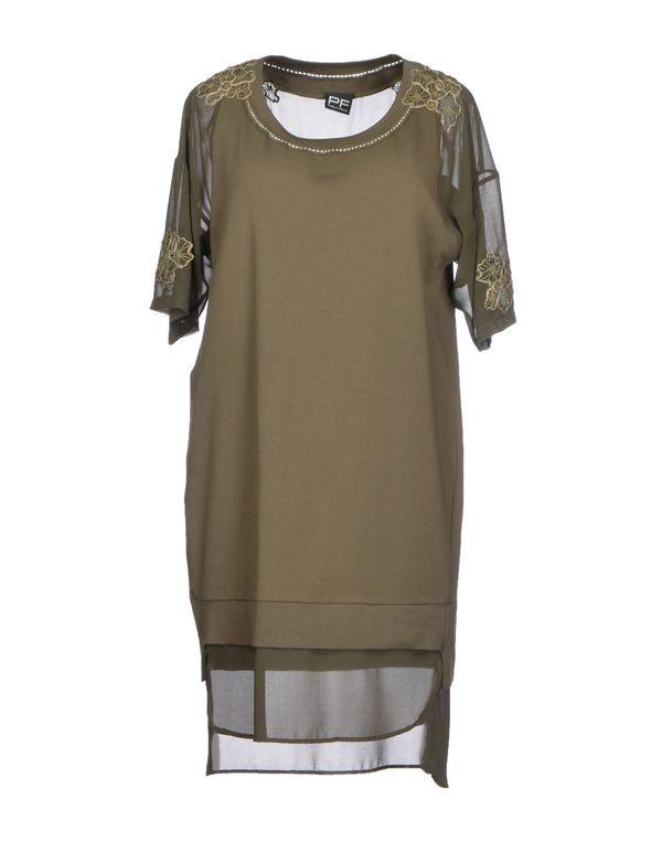 军绿色 PF PAOLA FRANI 短款连衣裙