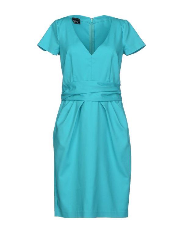 蓝绿色 PF PAOLA FRANI 短款连衣裙