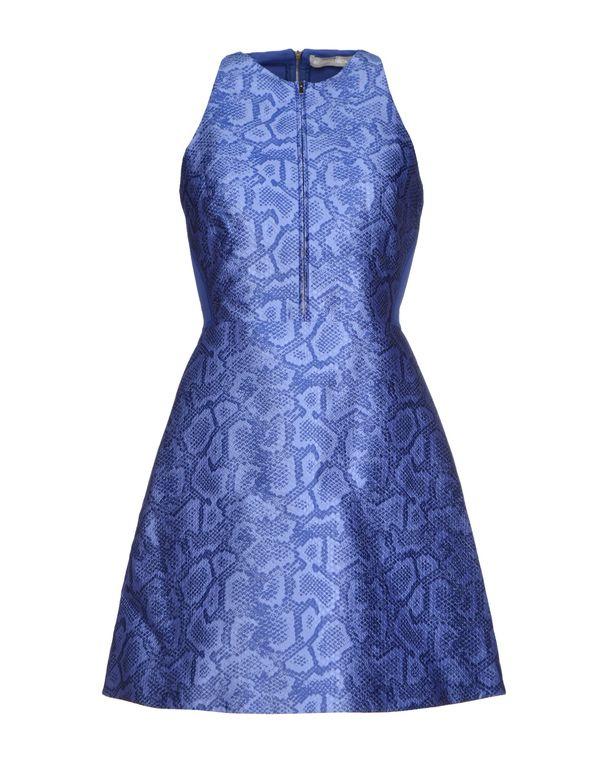 蓝色 RICHARD NICOLL 短款连衣裙