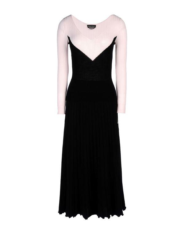 黑色 SONIA RYKIEL 中长款连衣裙