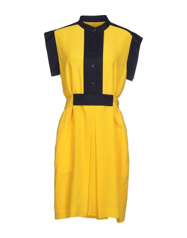 黄色 SEE BY CHLOÉ 短款连衣裙