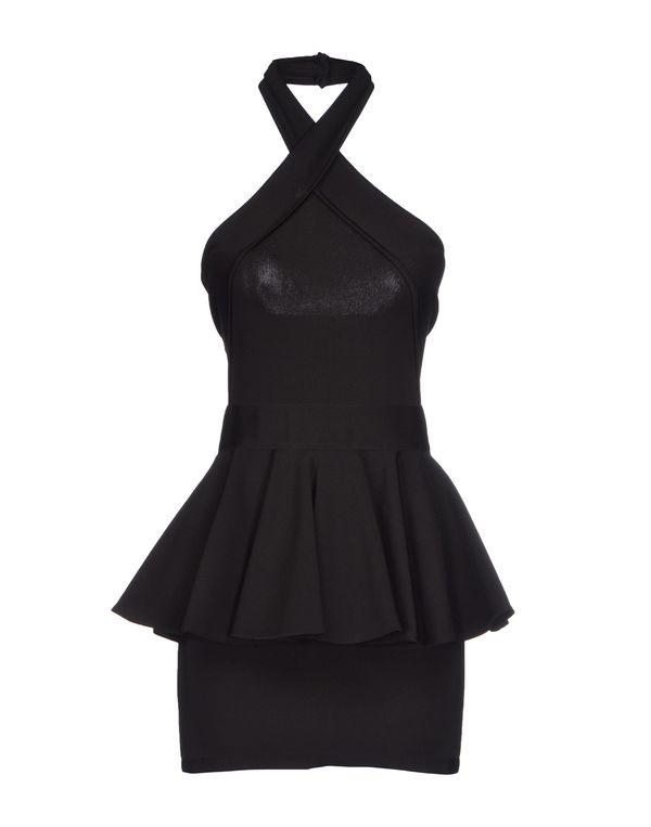 黑色 BALMAIN 短款连衣裙