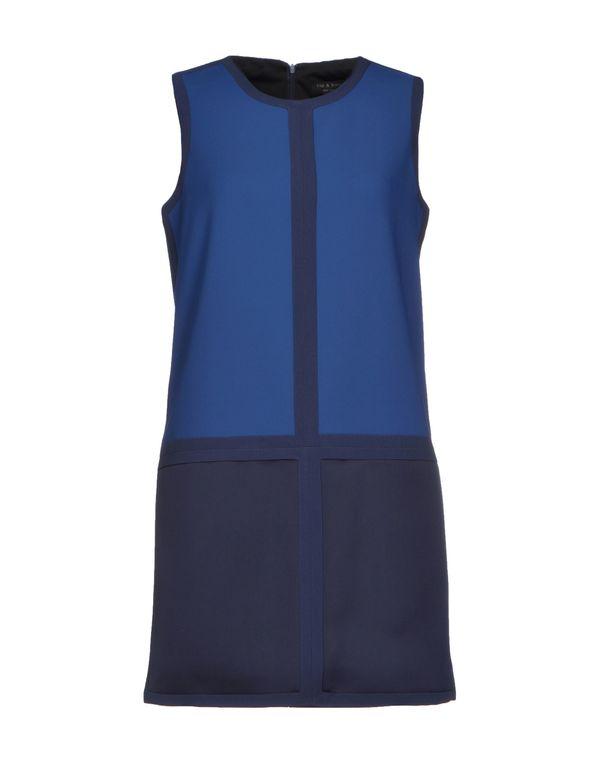 蓝色 RAG & BONE 短款连衣裙