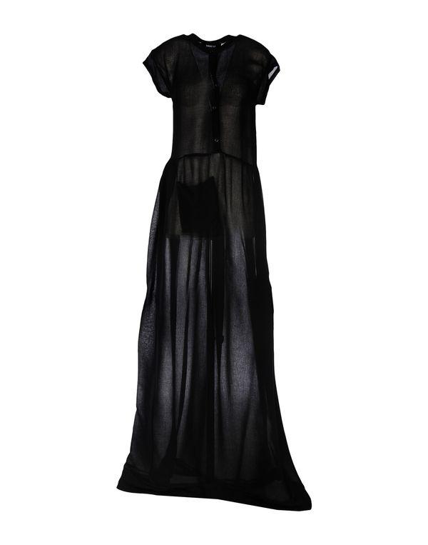 黑色 YANG LI 长款连衣裙