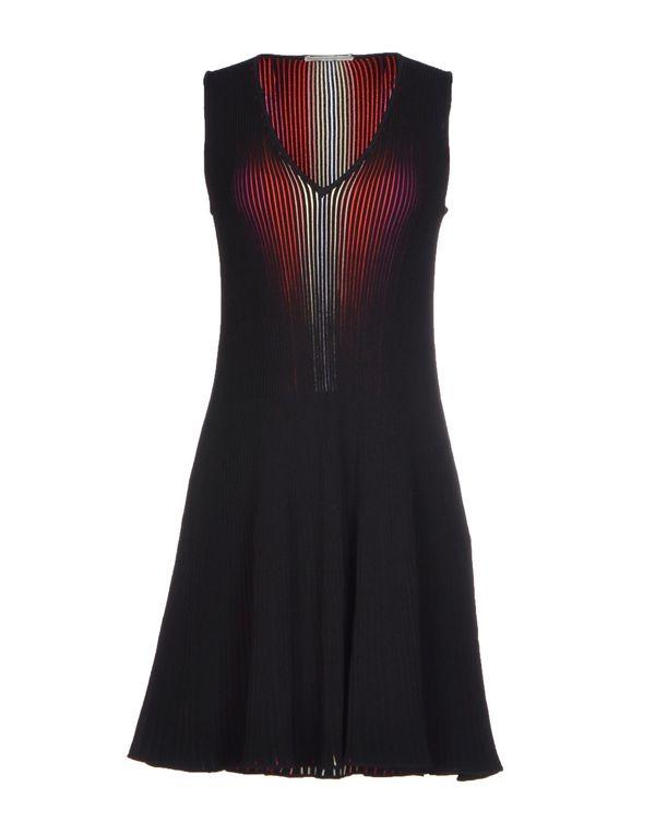 黑色 MARCO DE VINCENZO 短款连衣裙