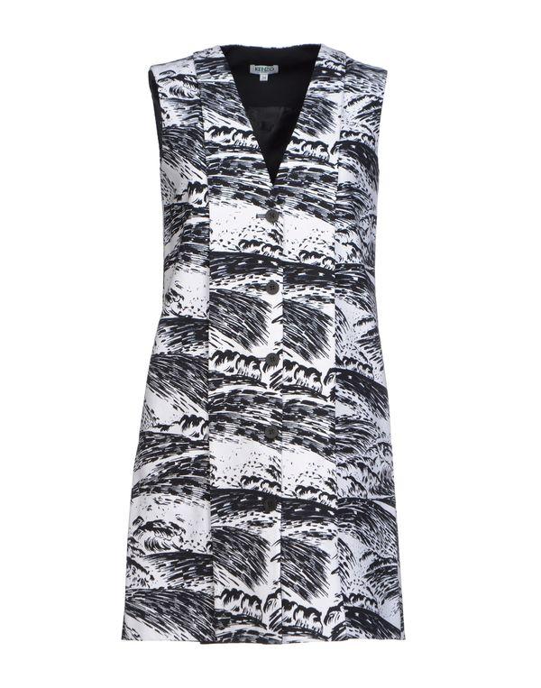 黑色 KENZO 短款连衣裙