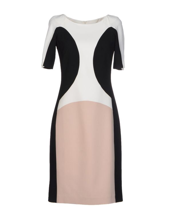 浅棕色 PIANURASTUDIO 短款连衣裙