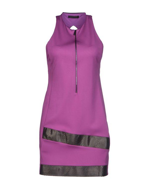 紫色 PINKO BLACK 短款连衣裙