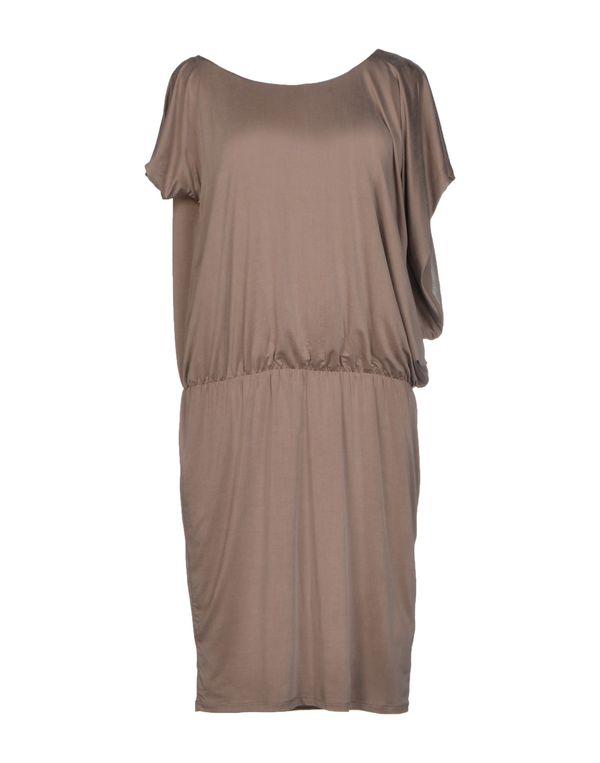 灰色 LIU •JO 及膝连衣裙