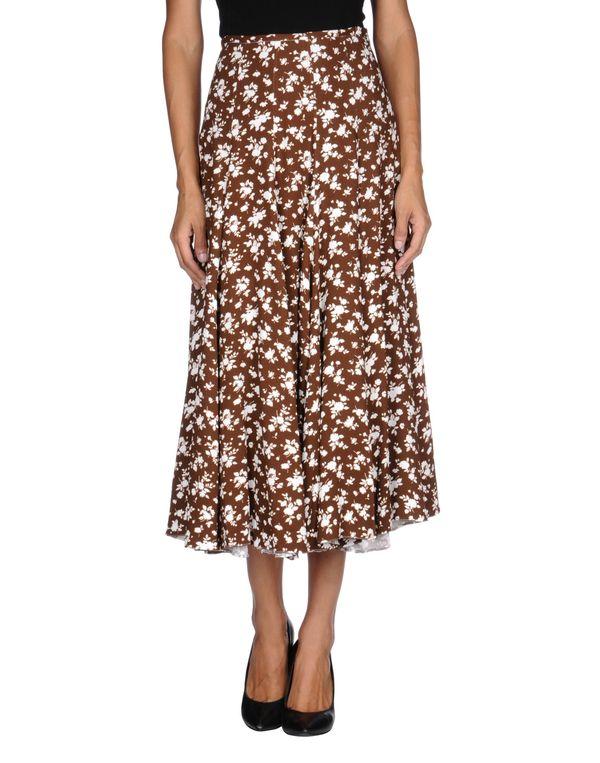 棕色 MICHAEL KORS 半长裙