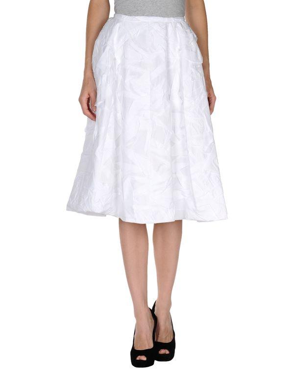 白色 ROCHAS 半长裙