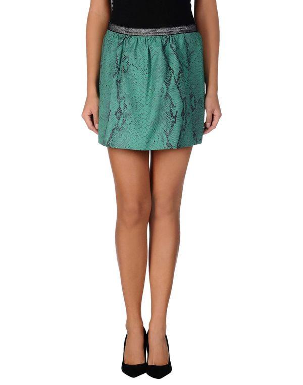 绿色 PINKO BLACK 超短裙