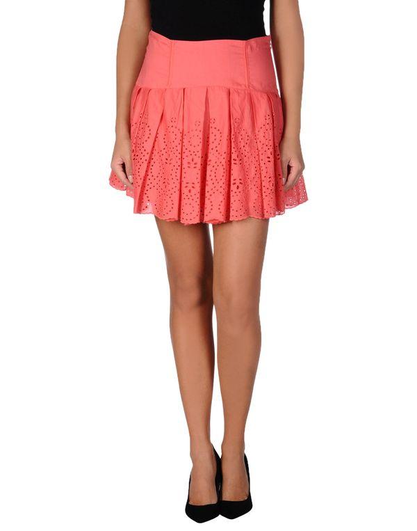 珊瑚红 PINKO BLACK 超短裙
